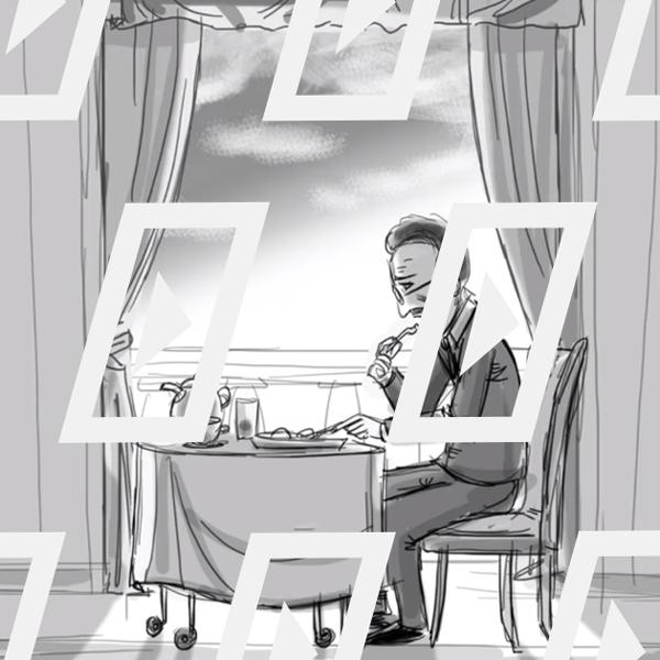Відео дня: розкадровка Веса Андерсона до фільму «Готель «Гранд Будапешт»