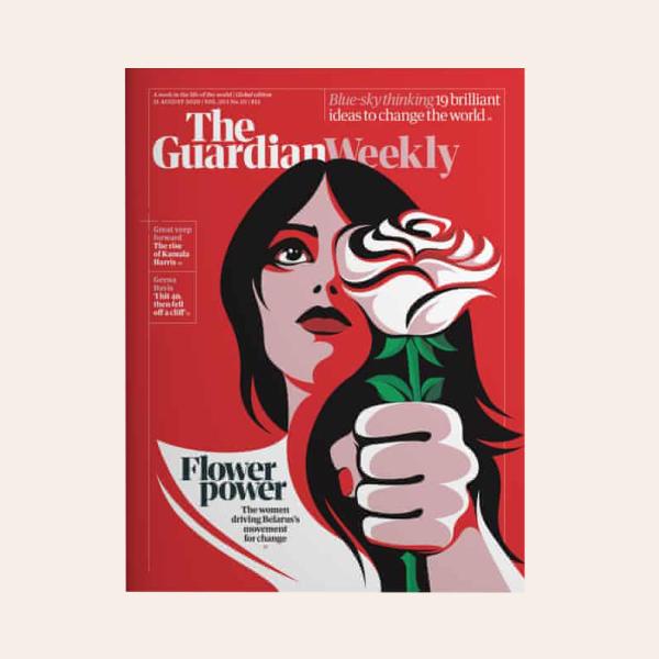 The Guardian присвятив обкладинку білоруським жінкам, які з квітами вийшли на протест — Життя на Wonderzine