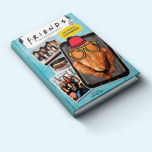 Книга з рецептами страв із серіалу «Друзі» — Вішлист на Wonderzine