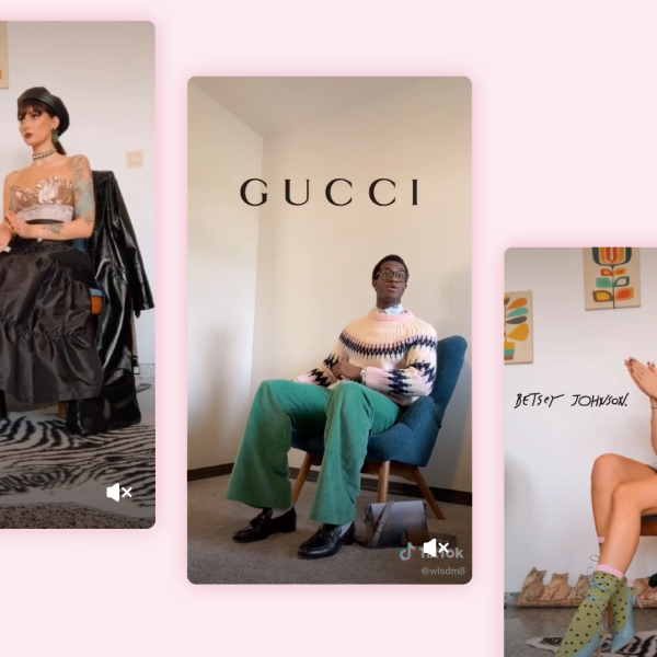 Перший ряд. Як тіктокери створили новий тренд, де уявляють себе гостями показу мод  — Стиль на Wonderzine