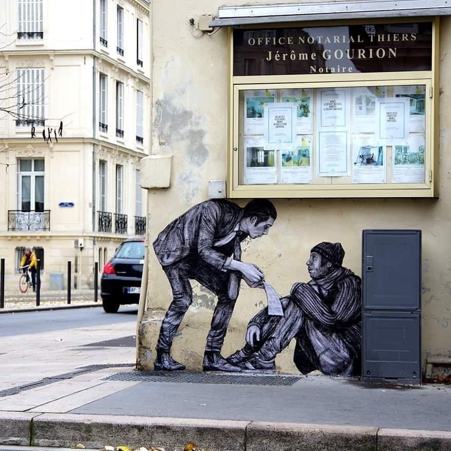 На кого підписатися: Instagram паризького стрит-арт художника Шарля Леваля  — Арт на Wonderzine