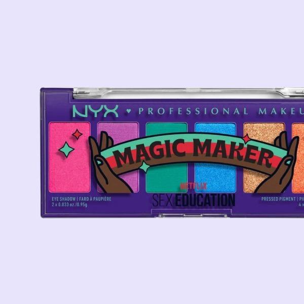 Палетка для макіяжу NYX із колекції на честь серіалу «Секс-освіта» — Краса на Wonderzine