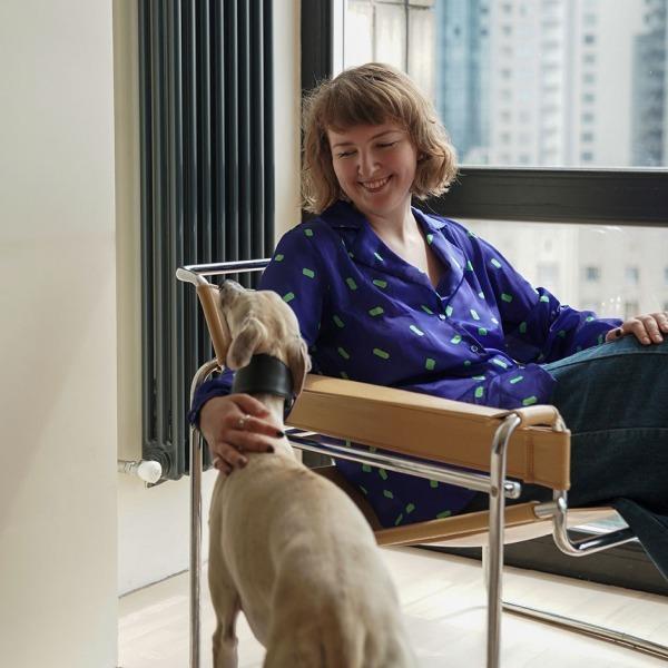 Операційна директорка Поліна Клековкіна та її студія з панорамними вікнами