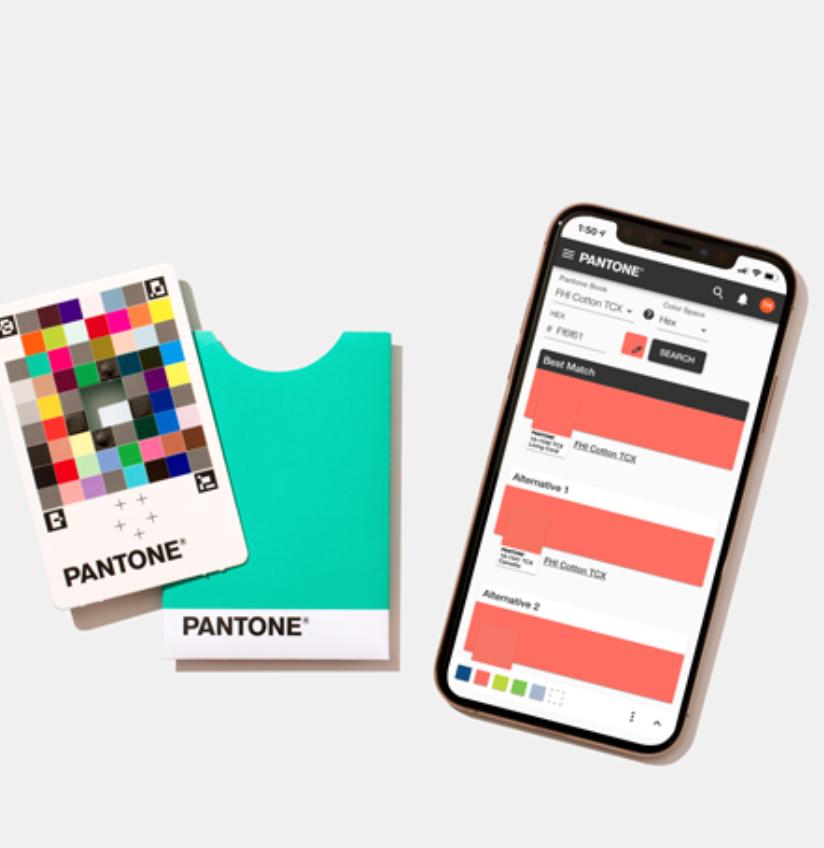 До закладок: Додаток Pantone для підбору кольору
