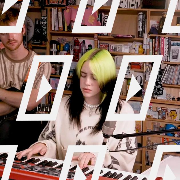 Відео дня: домашній онлайн-концерт Біллі Айліш — Музика на Wonderzine