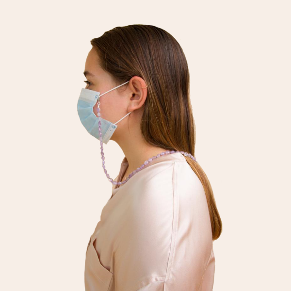 Ланцюжок з натурального каміння для захисної маски — Вішлист на Wonderzine