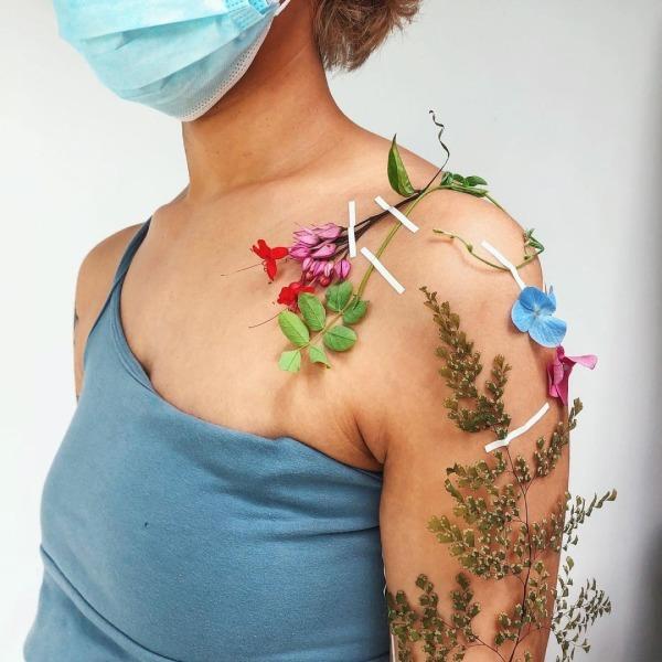 На кого підписатися: Instagram-акаунт з рослинними татуюваннями — Життя на Wonderzine