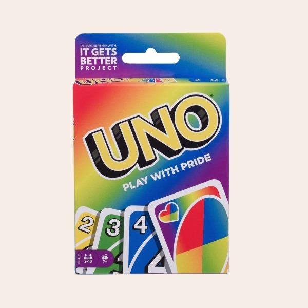 Прайд-колода UNO з веселковим дизайном