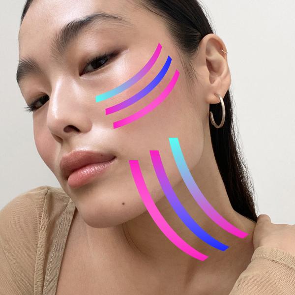 Тейпування обличчя. Що це та як працює?