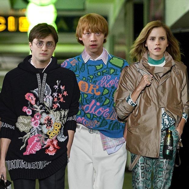 На кого підписатися: Instagram-акаунт, де герої «Гаррі Поттера» приміряють дизайнерський одяг — Життя на Wonderzine