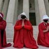 У Вашингтоні провели акцію протесту проти призначення Емі Баррет на посаду Верховної судді