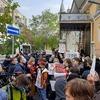 У Києві відбулась акція на підтримку жінок Польщі через заборону абортів