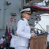 Уперше жінка стала командиркою атомного авіаносця США