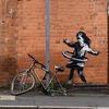 У Ноттінгемі викрали велосипед, який був частиною муралу Бенксі