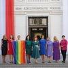 Навіщо депутати в Польщі одягнулися у веселкові кольори на інавгурацію президента Дуди