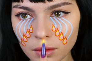На кого підписатися: ідеї яскравого макіяжу від художниці Джуліани Горнер