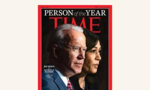 Джо Байден і Камала Гарріс стали людьми року за версією Time