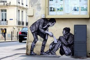 На кого підписатися: Instagram паризького стрит-арт художника Шарля Леваля