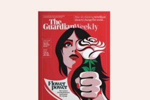 The Guardian присвятив обкладинку білоруським жінкам, які з квітами вийшли на протест