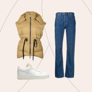 Практика: З чим носити об'ємний жилет