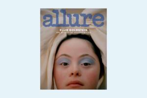 Модель із синдромом дауна Еллі Гольдштейн з'явилася на діджитал-обкладинці видання Allure