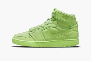 Зелені кросівки, які світяться в темряві. Колаборація Біллі Айліш x Air Jordan