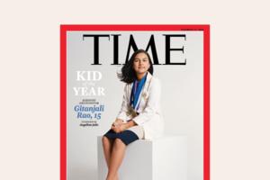 Time запровадив нову відзнаку «Дитину року» та вручив її 15-річній науковиці