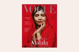 Наймолодша лауреатка Нобелівської премії Малала стала героїнею номера Vogue UK