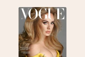 Адель розповіла про тривожність, бодішеймінг і майбутній альбом в інтерв'ю Vogue