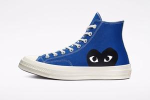 Converse і Comme des Garçons представили нові версії моделі Chuck 70 у двох кольорах