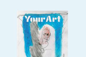 Журнал про мистецтво Your Art #1 з ексклюзивним принтом від художниці Люби Кучерявої