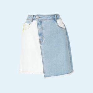 Практика: з чим носити джинсову спідницю