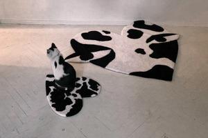 Килим із колекції M1R x Minikoshka, що присвячена потребам тварин у притулках