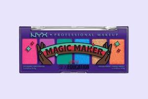 Палетка для макіяжу NYX із колекції на честь серіалу «Секс-освіта»