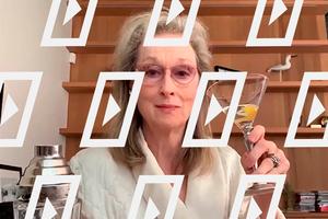 Відео дня: Меріл Стріп готує коктейль із Крістін Баранскі й Одрі Макдональд