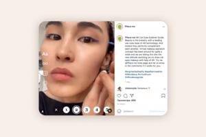 До закладок: Instagram-маска, яка допомагає малювати рівні стрілки