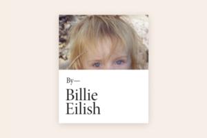 Автобіографічна книга Біллі Айліш із фото й історіями з життя співачки