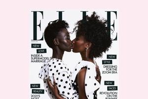 На обкладинці Elle UK з'явилася подружня пара лесбійок