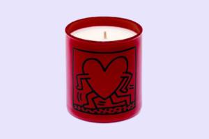 Парфумована свічка Ligne Blanche з принтом Кіта Харінґа